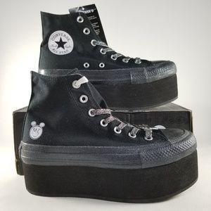 b60af58750e3 Converse Shoes - Converse X Miley Cyrus CTAS Platform OX Shoe Black